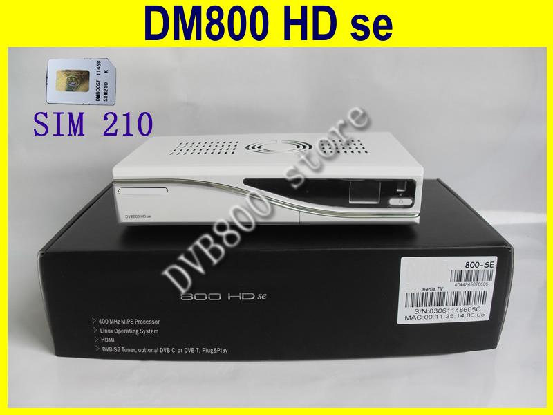 white color DVB 800HD se BCM4505 tuner sunray 800hd SE TV receiver 800 hd SE(China (Mainland))