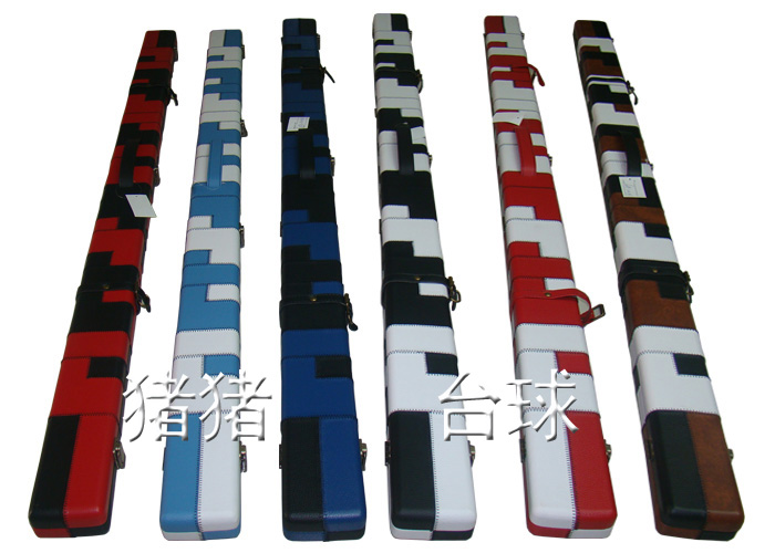 Stanford Design 48inch 3/4 2compartments cue cases Billiard Cue Stick Pool&Snooker Cue Case 3/4 Single Ball Arm cue bag(China (Mainland))