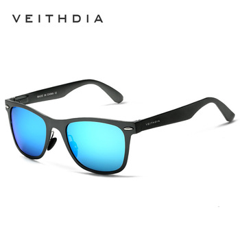 Men's Driving Aluminum Magnesium Polarized Sunglasses Retro Glasses Colorful Rectangle Mirror Sports Sun glasses Male Eyewear