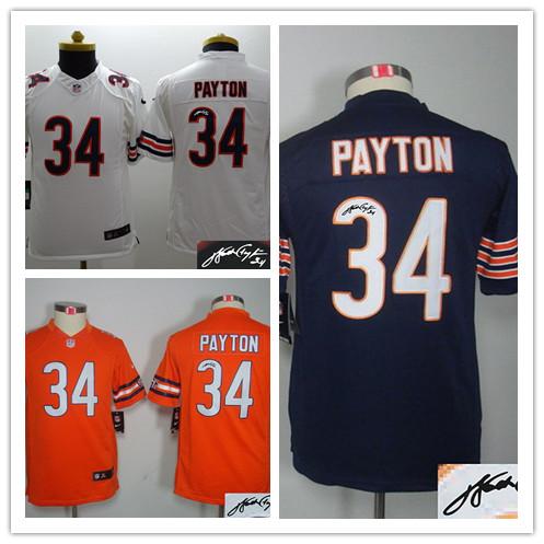 NFL Jerseys NFL - Popular Walter Payton Youth Jersey-Buy Cheap Walter Payton Youth ...