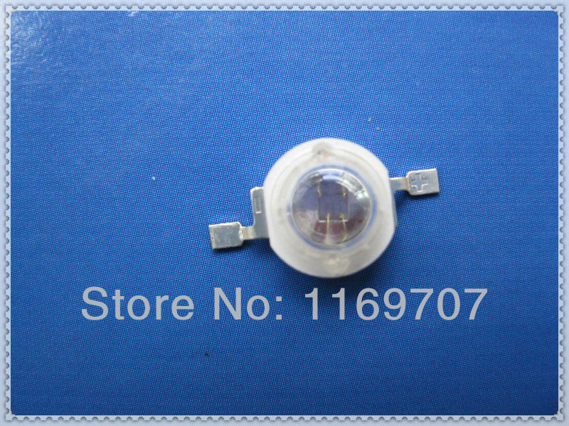 20PCS 730NM 3W Far Red LED Far Infrared LED 3W 720NM IR LED Deep Red Diode High Quality Highlight(China (Mainland))