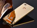 Luxury Mirror Aluminum Case For Xiaomi Redmi 3s Metal Ultra Slim Acrylic Back Cover For Xiaomi