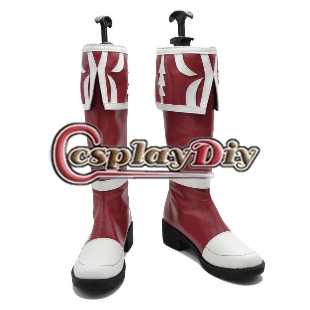 Crimson Red Heels