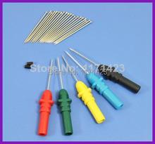 Hantek HT307 volver Pinning sondas de aguja Piercing sondas Set 5 colores surtidos envío gratis