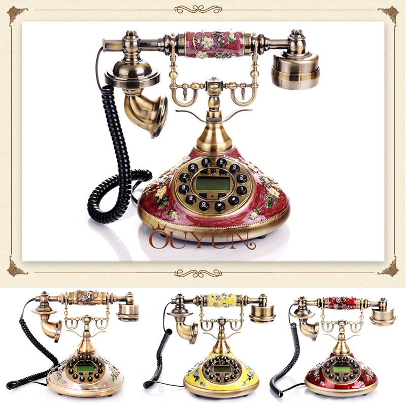New arrive european home phone retro landline phones Retro home decor