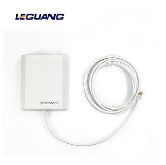 14dB 2.4GMHz USB Wireless WiFi WLAN Outdoor Panel Antenna RP-SMA Male 5M Cable RP-SMA-J Connector Free Shipping+Drop Shipping(China (Mainland))