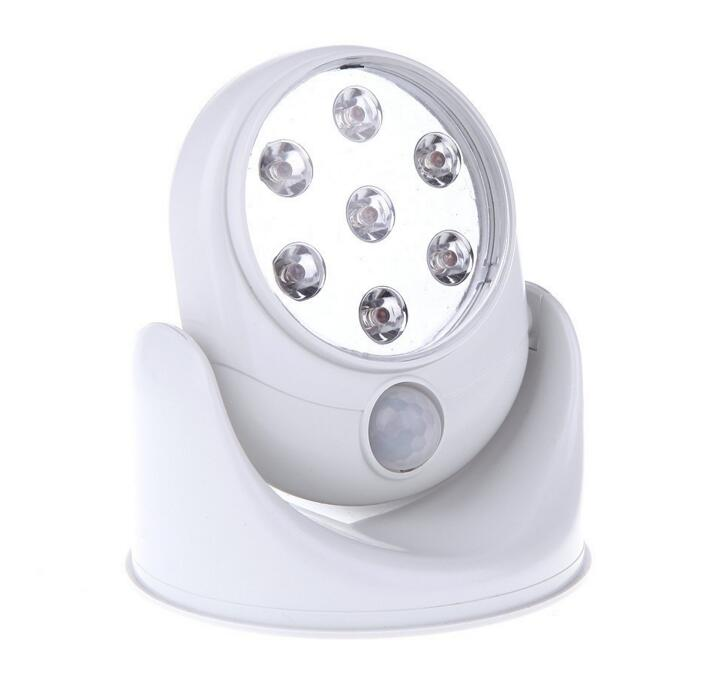 LED Light Angel as seen on TV Motion Activated Cordless Light Base Rotates 360 PIR Motion Sensor Night Lights Lamps<br><br>Aliexpress