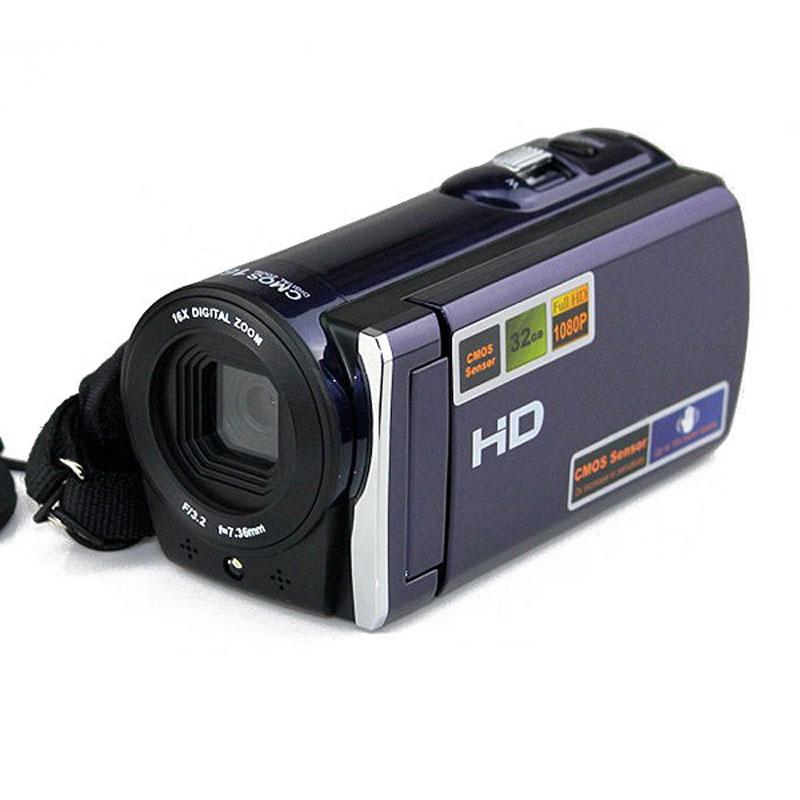 2017 Newest HD666 1080P Digital Video Camera Full HD 16X digital Zoom 3'' LCD Video Camcorder Recorder HDMI AV Output