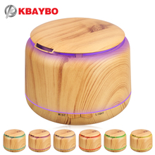 Buy 300ml Ultrasonic Humidifier Aroma Essential Oil Diffuser Wood Grain Cool Mist Humidifier aromatherapy diffuser 7 Color LED for $18.80 in AliExpress store