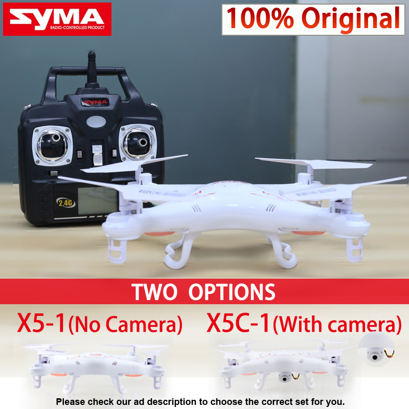 Syma X5C-1 Quadcopter Drone With Camera X5C or X5 rc helicopter without camera<br><br>Aliexpress