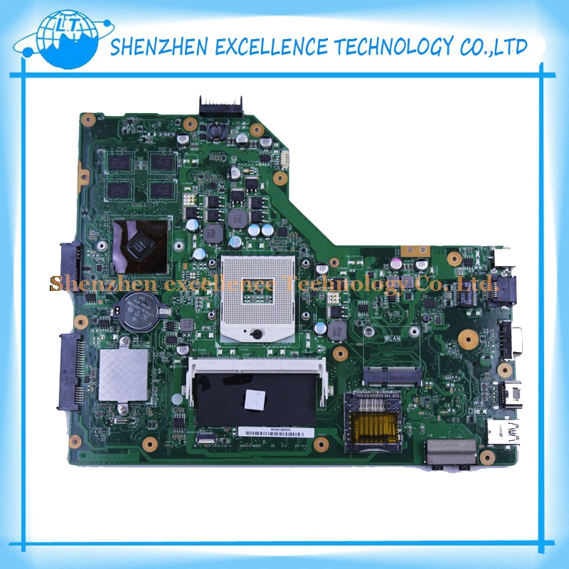 Original For ASUS motherboard K54LY REV 2.1 HM65 laptop 8pcs video card K54LY Mainboard work perfect & 45 Days warranty(China (Mainland))