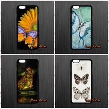 Painting Palette Geometry Butterfly Plastic Back Case For Samsung Galaxy 2015 2016 J1 J2 J3 J5 J7 A3 A5 A7 A8 A9 Pro(China (Mainland))