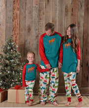 Family Christmas Pajamas Family Matching Clothes Matching Mother Daughter 2017 Fashion Father Son Mon New Year Family Look Sets(China)