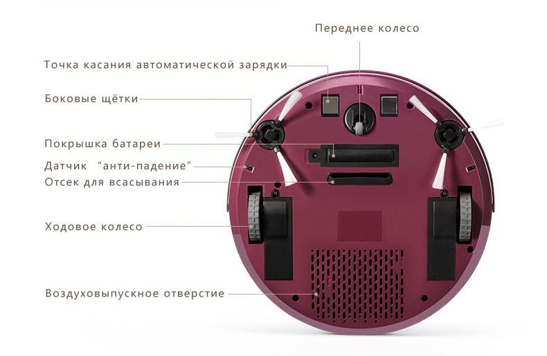 puppyoo cacuum cleaner robot V-M611A05