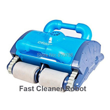 Robot Cleaner Swimming Pool With Spot Cleaning,Wall Climbing+Remote Controller+15m Cable+Area:100-200m2(China (Mainland))