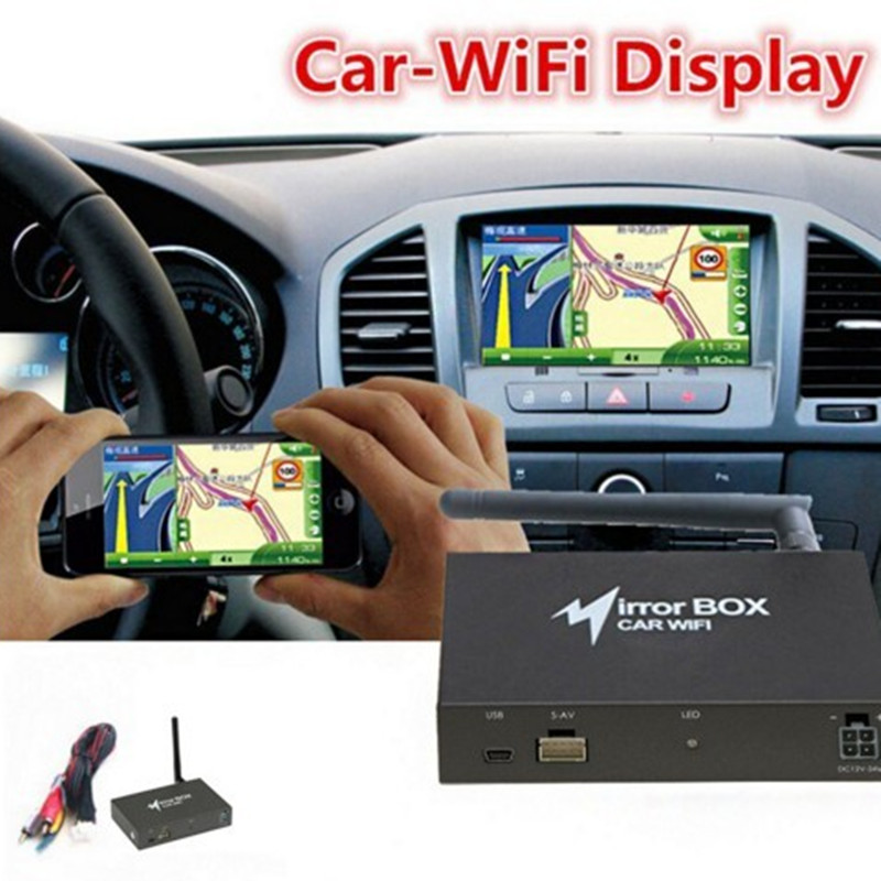 Professional WIFI Car Mirror Box for Android iOS Phone Navigation Car Audio Miracast DLNA Airplay Wi-Fi Smart Screen Mirroring36(China (Mainland))