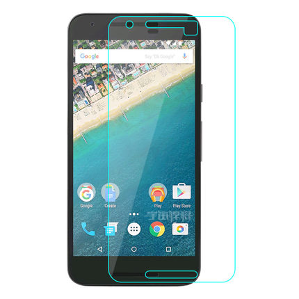 For LG Nexus 5X Mobile phone screen saver membrane explosion-proof toughened glass material for LG Google 5 x membrane sticker(China (Mainland))