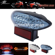 Buy High Motorcycler Integrated LED Tail Light Turn signal Blinker SUZUKI HAYABUSA GSX1300R GSX 1300R 1999-2007 Smoke for $26.09 in AliExpress store
