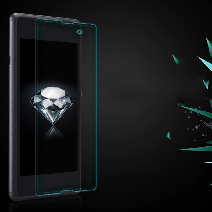 For Sony Xperia E3 D2203 D2206 D2243 D2202 Dual D2212 Ultra Thin Tempered Glass Protector LCD Screen Guards Protective Film(China (Mainland))
