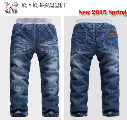 2-7Yrs Kids Boys Jeans 2017 KK-Rabbit Spring Autumn New Arrival Children's Spring Jeans Trousers Brand Denim Boy Jeans 1525