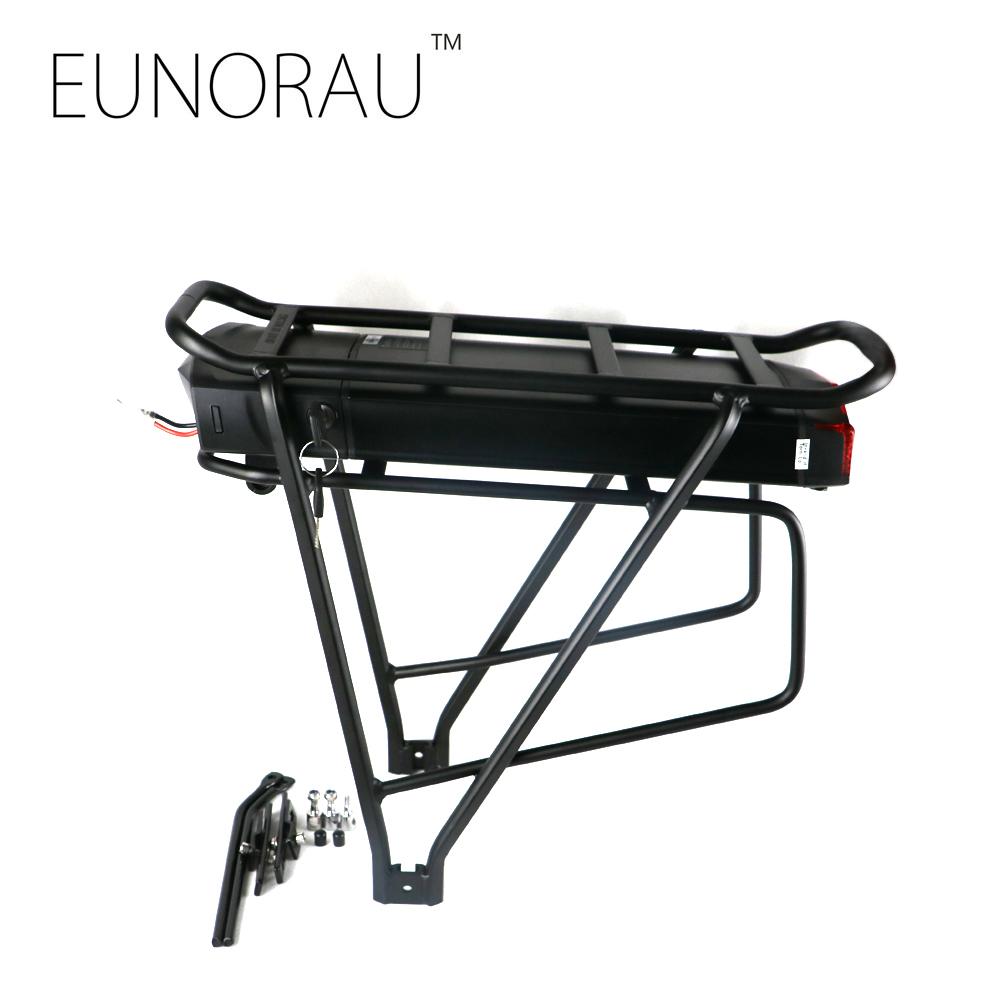 High quality electric bike battery 36V 13Ah 1203 rear rack ebike battery(China (Mainland))