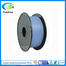 Premium 3D Printer Filament 1.75mm 3mm PLA 1Kg/Spool Color Changing Thermochromic Blue to white