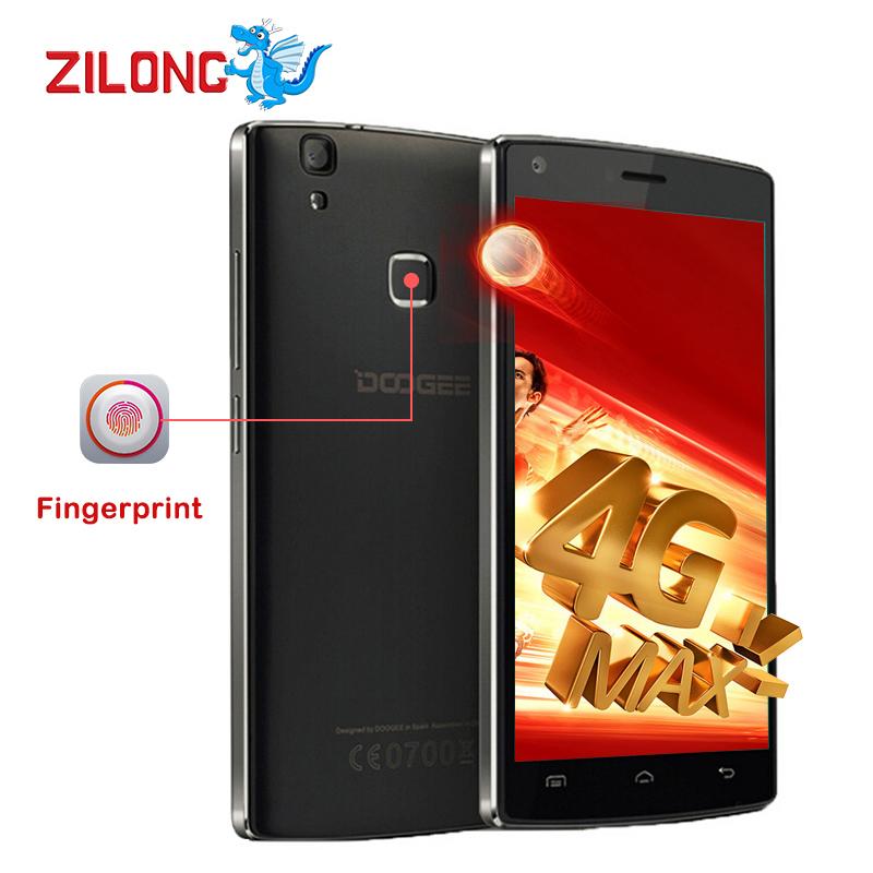 2016 Original Doogee X5 MAX Pro 4G LTE Quad Core Smartphone Android 6.0 MTK6737 2GB+16GB 5.0MP Fingerprint ID 4000mAh celular(China (Mainland))