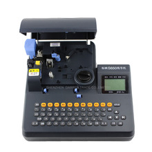 Free by DHL PVC Tube Printer S-650 Shrinkable Tube Electronic Lettering Machine Shrinkable Cable ID Printer Wire Marking Machine
