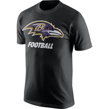 Men's CJ Steve Mosley Smith SR Justin Terrell Tucker Joe Suggs Flacco Customs Name And Number T-Shirts!(China (Mainland))
