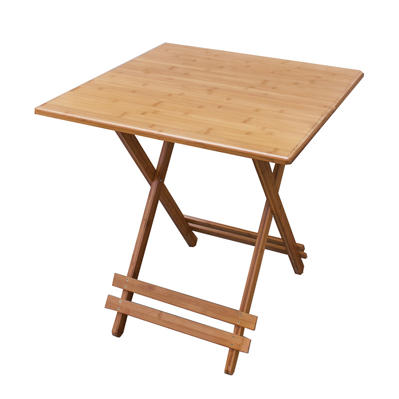 ec furniture bamboo folding table square table small