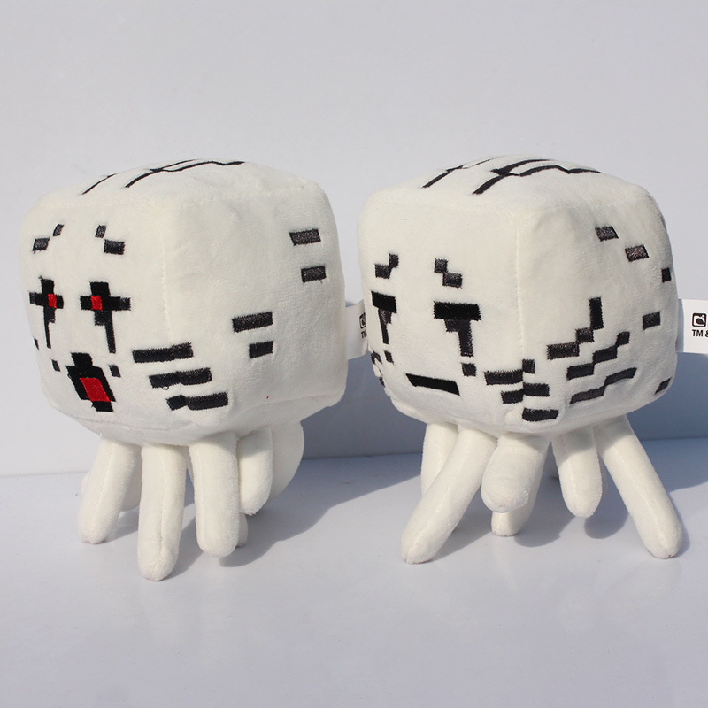 EMS 100pcs/lot 15cm Minecraft plush Minecraft Ghast plush Large Ghast Special offer(China (Mainland))