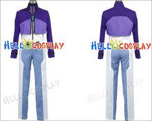 Mobile Suit Gundam 00 Cosplay Tieria Erde Costume H008