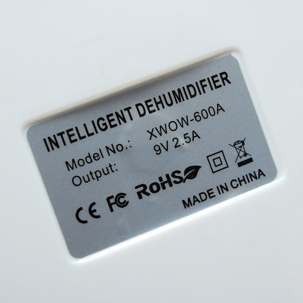 Купить Мини-Осушитель 9 В 2.5A Портативный Мини Осушитель Электронных Полупроводниковых Интеллектуальные Осушитель Компактный Осушитель Воздуха 500 МЛ