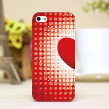 PZ0004-4-17 Valentine Design Customized cellphone transparent case cover for iphone cases for iphone 4 5 5c 5s 6 6plus