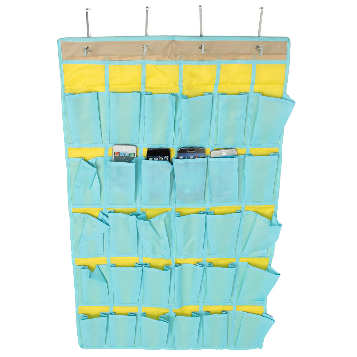 Door Wall Hanging Organizer Oxford Multi Pockets Toys Phones Sundries Storage Bag Small Items Holder Classroom Household Keeper(China (Mainland))