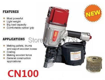 CN100 heavy duty air tool air stapler framing nail gun , industrial pneumatic coil nailer(China (Mainland))