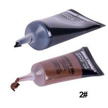 Waterproof Beauty Makeup Eyebrow Cream Mascara Gel Eyebrow With Brush Hot Sale(China (Mainland))