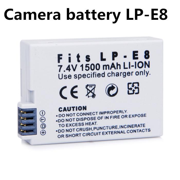 Гаджет  Original 1500mAh LP-E8 digital batteries Li-ion LP E8 LPE8 Camera Battery pack For Canon EOS 550D 600D 650D 700D Comparable None Бытовая электроника