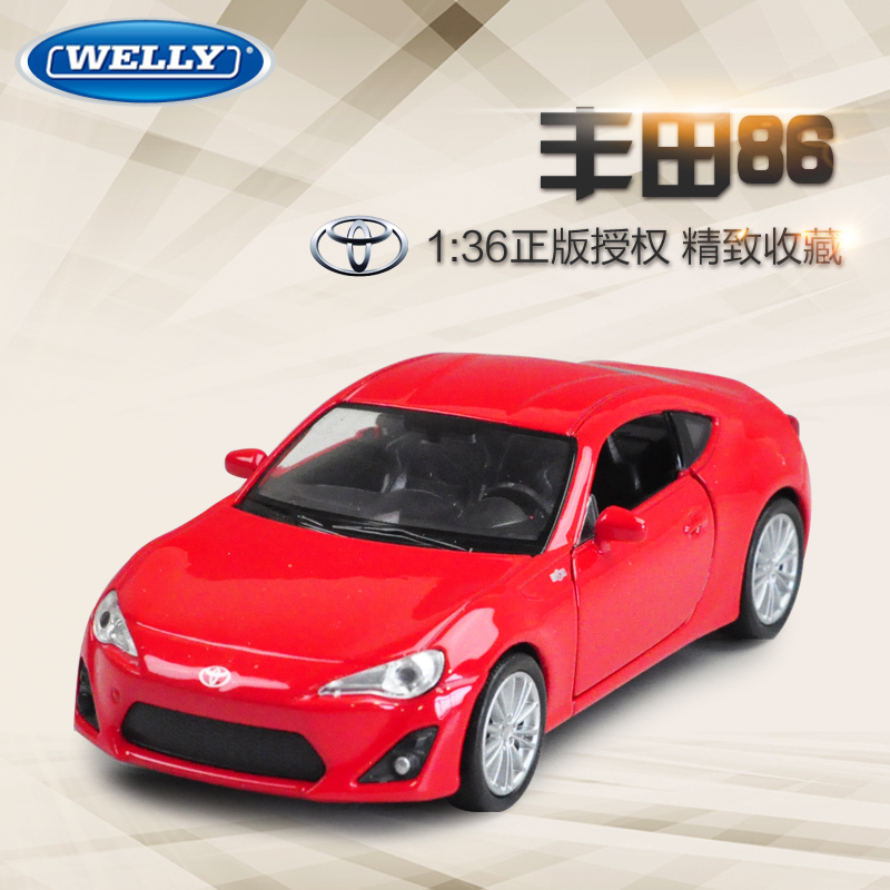 Free Shipping Wholesale 5pcs/pack WELLY 1/36 Scale Classical TOYOTA 86 Diecast Metal Pull Back Car Model Toy New In Box<br><br>Aliexpress