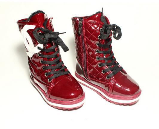 Модная зимняя обувь для девочек подростков