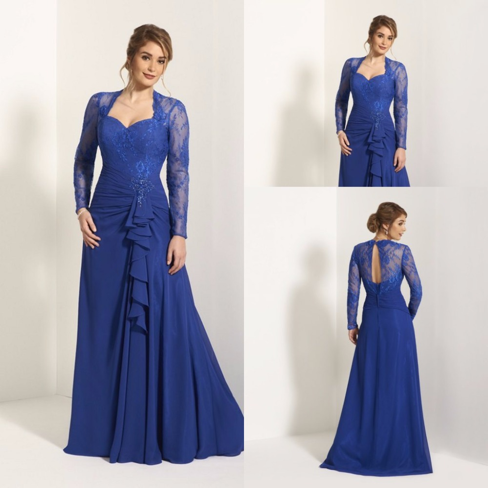 Elegant Wedding Dress Up Games : Royal blue mother of the bride gown galleryhip