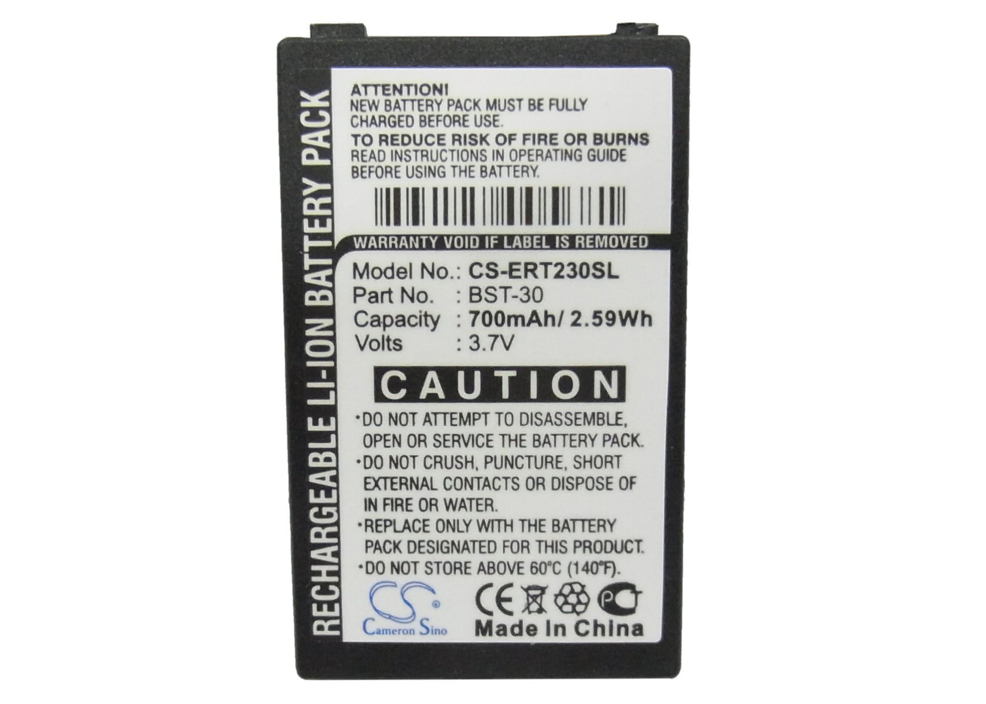Battery For SONY ERICSSON F500, J200c, J210i, K300a, K300i, K500c, K500i, K506c, K508i, K700c, K700i, T220, T226, etc(China (Mainland))
