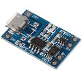 1PCS Micro USB 5V 1A 18650 Lithium Battery Charger Module Charging Board With Protection