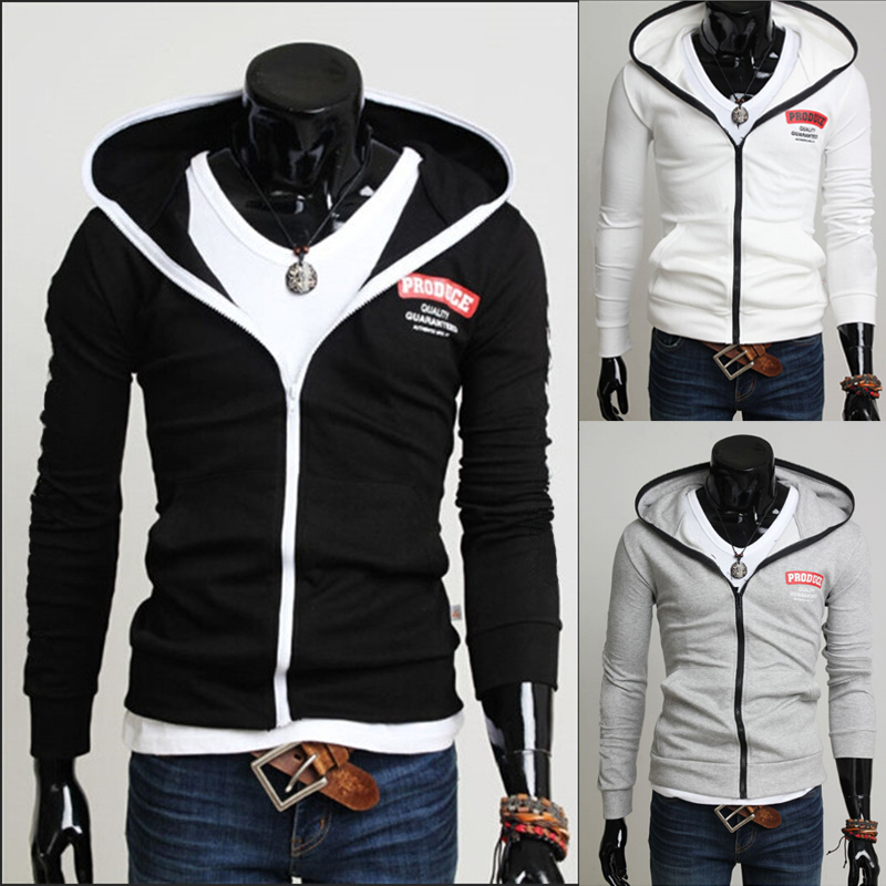 Cool Mens Zip Up Hoodies | Fashion Ql