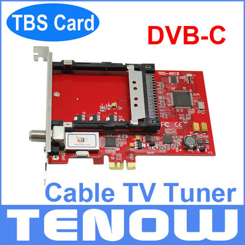 DVB-C Cable TV Tuner TBS6618 for Watching and Recording Digital Cable TV on PC, Watching Encrypted Pay TV(China (Mainland))
