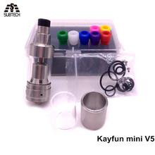 RDA Kayfun mini v5 e cigarette Rebuildable Atomizer subtank fit mechanical mod atomizer VS kayfun v3 cig - Jinfushistore store