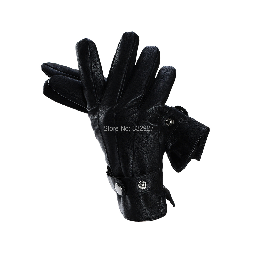 Mens leather gloves thin - Buy Wholesale New Winter Men Genuine Leather Gloves Warm Leather Gloves Thin