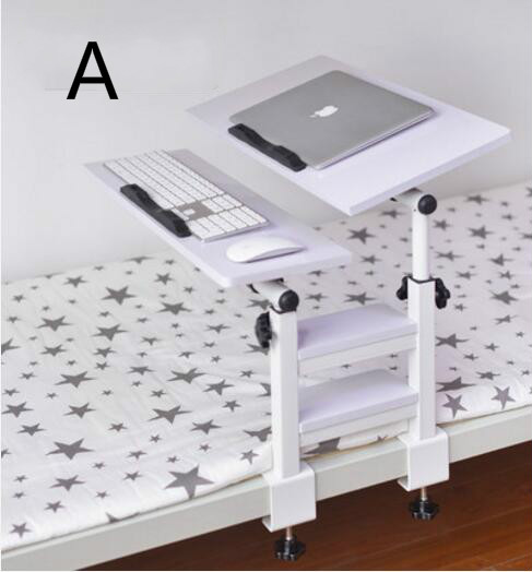Notebook computer desk and bed with folding desk bedroom and dormitory artifact lazy learning table(China (Mainland))