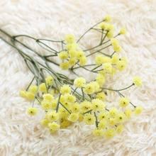 90 бутоны искусственных цветов ложное дыхание ребенка Gypsophila Свадебные украшения день рождения DIY фото реквизит цветок головы ветка(China)
