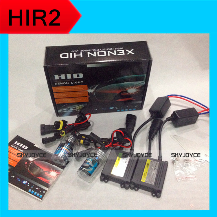 3 set DHL ship hid headlight bulb lamp HIR2 9012 bulbs HID ballasts kit 6000K 2014 Luxgen 7 SUV low beam - SKYJOYCE168 Store store